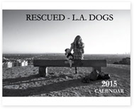Rescued L.A. Dogs Calendar Cover