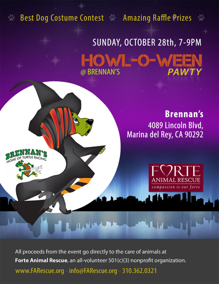 Howl-O-Ween Pawty - Sunday October 28, 2018